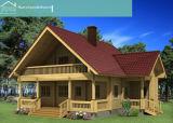 Holiday Villa de madeira (HT-F-009)