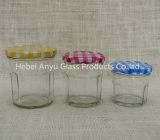 De kleine Kruik van de Metselaar van het Glas van de Grootte 50ml Duidelijke/de Kruik/de Jampot van de Gelei met het Deksel van de Schroef