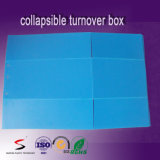 Boîte en plastique ondulée de cadre normal compressible