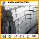 Barra piana del acciaio al carbonio di lunghezza della struttura di costruzione di Q345b 6m
