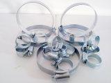 Braçadeiras de tubo de aço inoxidável de venda quente Braçadeiras de tubo de aço inoxidável