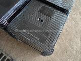 Tampa de câmara de visita Ductile do dever da luz do ferro de molde