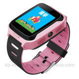 Bluetoothの腕時計の携帯電話はSIMのカードスロットD26cが付いているGPSの追跡者のスマートな腕時計をからかう