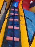 زرقاء ولون صفراء لعب قابل للنفخ كبير