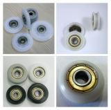 Porta do chuveiro rolete plástico, roda a roda do Rolete Pequeno, o cilindro da porta de tela