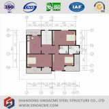 Structure légère en acier préfabriqués Sinoacme chambre
