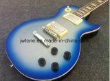 모든 색깔이 받아들이는 불꽃 Blueburst 크림 의무적인 금속 Lp 표준 일렉트릭 기타