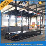 Elevatore automatico personalizzato dell'automobile della piattaforma del garage portatile idraulico doppio