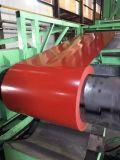 塗られたカラーはCGCC材料が付いている鋼鉄コイルPPGIに電流を通した