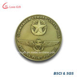 Ferro/Brass Metal Gold Souvenir Coin per Custom Gift