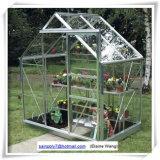 가족을%s 소형 정원 유리제 온실