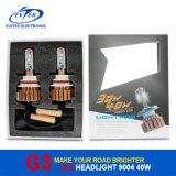 한세트 변환 장비 차량 헤드라이트를 위한 차 LED 헤드라이트 차 보충 Headlamps 6000k LED 헤드라이트 전구 9004/9007 40W 3600lm