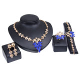 Insiemi brevi Chain di vendita caldi dei monili del braccialetto dell'anello di Eearring della collana