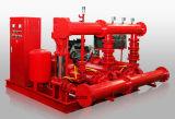 고압 디젤 엔진 포장된 화재 펌프
