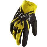 Guanti di modello gialli dei cavalieri del motociclo di Fox (MAG33)