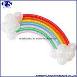Partei-Bevorzugungen Wholesale Leuchtstofflatex-magischen Ballon, langen magischen Ballon