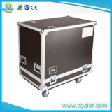 Wheels를 가진 Amplifier를 위한 OEM 4u Mixer Case Rack Cases