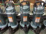 Pompes à eau submersibles électriques de qualité Qdx5-10-0.37f (0.37kw/0.5HP)