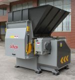 Shredder do eixo da tubulação automática do desperdício Plastic/HDPE/frasco plástico único