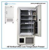 - Congelador ereto vertical do atum do laboratório de uma capacidade grande de 40 graus