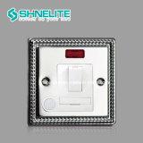 UK Standard de 4 Piste 1 façon contacteur électrique de l'interrupteur mural