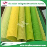 Nonwoven TNT 100% tecido de polipropileno descartáveis de pano de mesa