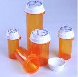 Plastic Flesjes met de Omkeerbare Flesjes van Pharmac van de Flesjes van de Apotheek van GLB Omkeerbare met Duw en Draai onderaan GLB