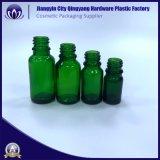 Venta caliente 30 ml- Verde Oliva botellas de vidrio para Aceite corporal / hermosas botellas de aceite esencial de gotero de vidrio