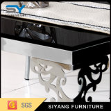 Mobiliário de sala do console de metal mesa lateral da mesa