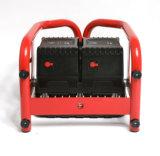 Pakt Afneembare Batterij twee de Robuuste Schijnwerper van de Bouw van het Bewijs van de Schok van het Ontwerp in