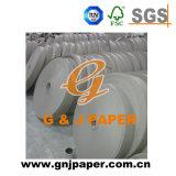 Bon prix bobine papier fibre du papier pour faire de base
