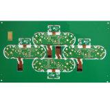 4 couches avec carte de circuit Rigid-Flexible Enig Finised