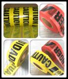 構築のための黒いワード注意テープとの黄色