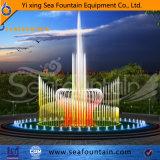 Светодиод горит постоянным из нержавеющей стали Танцующий фонтан