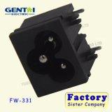 AC Power Socket Socket de Mickey Mouse C6 de type socket prune trois Carte de base