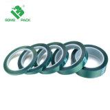 Verde de alta temperatura, la cinta de enmascarar cintas de Pet