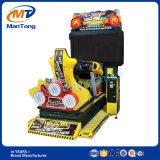 Machine van het Spel van de Arcade van de Simulator van autorennen de Muntstuk In werking gestelde