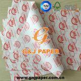 18 gramos 24*34cm imprimen en papel de envoltura resistente a la grasa con buen precio.