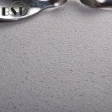 Pierre extérieure de quartz de textiles gris-clair