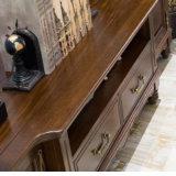현대 새로운 디자인 단단한 나무 서랍 가슴 (AS801)