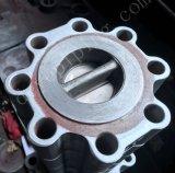 Um216wcb Disco Duplo de Aço Carbono da Válvula de Retenção de wafers com banco de Metal