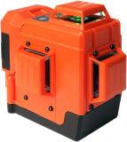 Danpon Recentste Navulbare 3X360° Het groene Niveau van de Laser DP-3dg