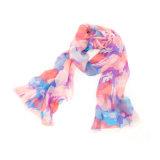 sciarpa di seta su ordinazione chiffona di seta di modo di 170*55cm