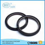 Selos do pistão do anel da corrediça de PTFE/Teflon para os cilindros resistentes