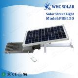 Newest intégrée de 50 W haute puissance Rue lumière solaire