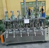 Máquina de rellenar semi automática de papel plástica del tubo del sellante neutral acético del silicio