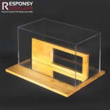 Sonnenbrille-Bildschirmanzeige-Zahnstange hergestellt vom Acryl und vom Bambus