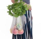 Chaîne à mailles coton réutilisable de stockage de fruits Grocery Shopper Shopping sac à main
