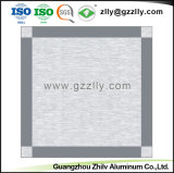 Panel decorativo Fire-Proof de metal de aluminio con Clip en el techo con SGS
