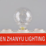 RGB base E27 G95 Lâmpada de flash de LED decorativas